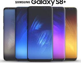 Samsung Galaxy S8 PLUS ALL Colors 3D model