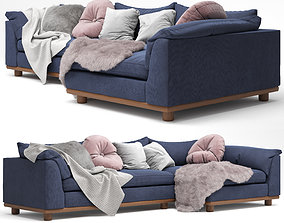 interior 3D model Sofa Relaxed Saguaro Sectional