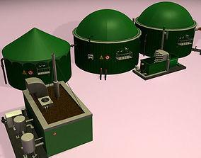 3D model Biogas Plant