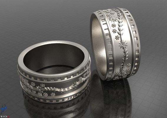 Ornament Ring 3D print model
