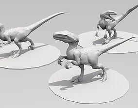 3D print model UthaRaptor three poses