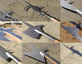 Medieval Polearms 3D