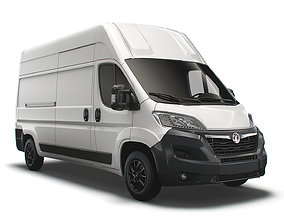 3D model Vauxhall Movano Van L3H3 2022