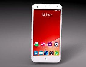 3D model ZTE S6 Blade smartphone