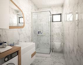 bathroom 3D print model
