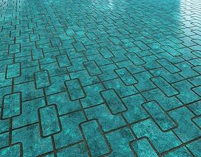 Floor 18 architectural-textures 3D model