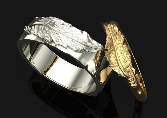 Women's and men's rings