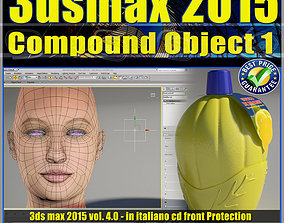3ds max 2015 Compound Object 1 volume 4 animated 2