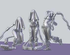 Arcofabulous Flagellant Set 1 3D print model