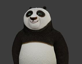 Kung Fu Panda Po RIGGED 3D model