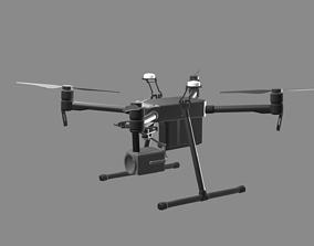 Drone DJI Matrice M210 RTK 3D asset