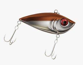 3D model Rattlin type fishing lure