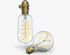 Edison Light Bulb 3D