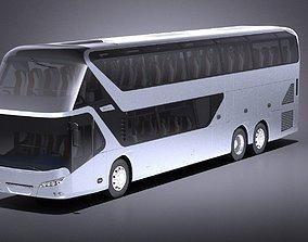 Neoplan Skyliner 2017 Coach Bus VRAY 3D model