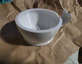 house 3D print model Scuttle Shaving Bowl