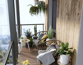 rail 3D Balcony