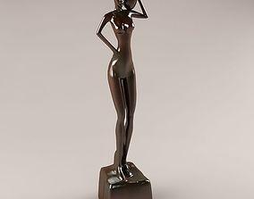 African Statue 3D