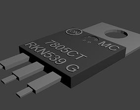3D model Transistor