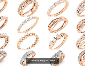 185 Bands Ring 3D model