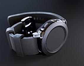 3D asset Low poly Smart Watch