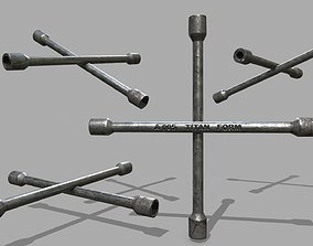 3D model realtime Lug Wrench