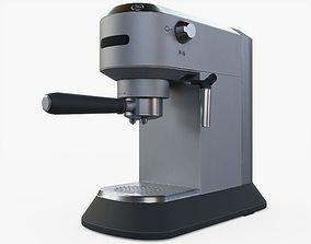 3D model realtime Espresso Coffee Machine