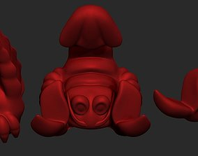 Lobster Phone Stand 3D print model