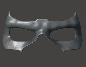 3D printable model TITANS Nightwing Mask