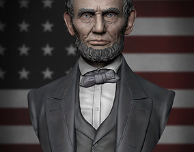 3D printable model Abraham Lincoln statue