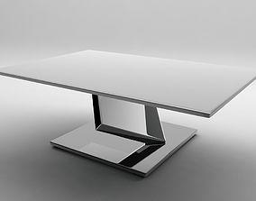 Ultrarealistic futuristic table 3D