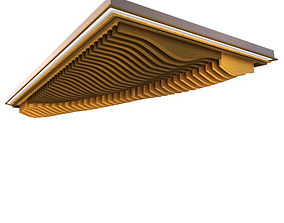 3D model Ceiling Feature Element 2