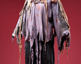 3D model Rags Horror Costume