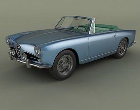 3D model Alfa Romeo 1900 SS Cabrio