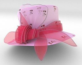 3D wedding fashion hat