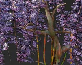 fantasy tree hand-painted 3D model