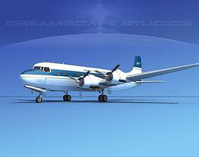Douglas DC-6 Aero Transport 3D