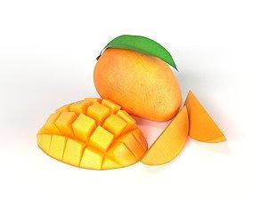 tropical Mango 3D model