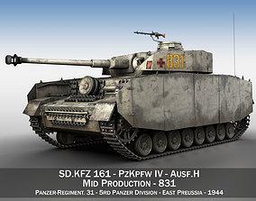 PzKpfw IV - Panzer 4 - Ausf H - 831 3D