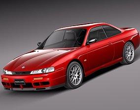 3D Nissan 240 SX silvia S 14 1995 - 1999