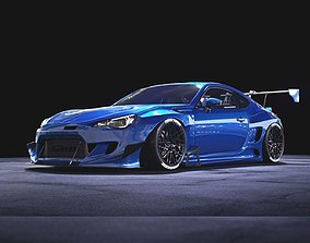 subaru BRZ Rocket Bunny V3 3D model