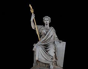 3D asset La Loi with 3 LOD - Paris