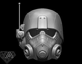 NCR New Vegas helmet 3D printable model