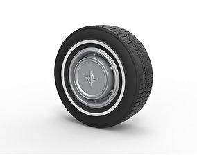 3D print model Diecast Car wheel 7 Scale 1 to 10
