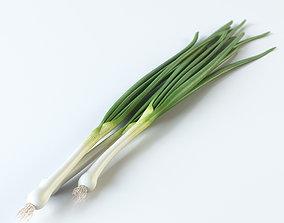 3D Onion green