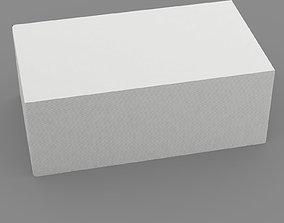 Business card stack 3D model