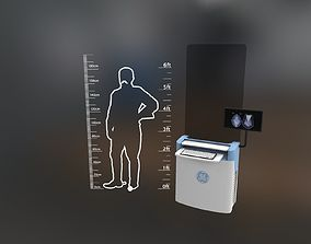 General Electric Healthcare Mammography System 3D asset 1