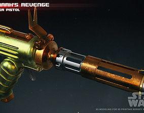 Vilmarhs Revenge blaster pistol 3D printable model