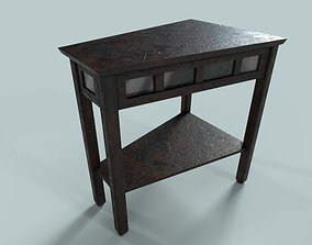 PBR Wooden Table 3 Variations 3D model