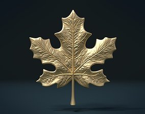 3D printable model leaves Maple Leaf