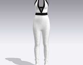 3D model JUMPSUIT clothes